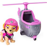 Mini Carrinho Patrulha Canina Resgate Ultimate Skye Helicopter