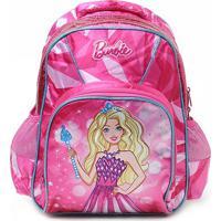 Mochila Infantil Luxcel Unicórnio Barbie Feminina - Feminino-Pink