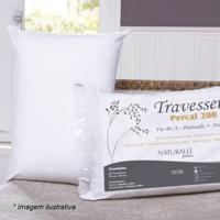 Travesseiro Em Percal- Branco- 70X50Cm- 200 Fiossultan