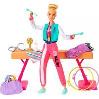 Boneca Barbie Profissões Ginasta