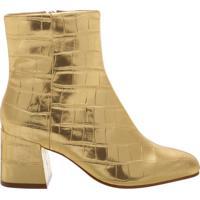 Bota Block Heel Golden | Schutz