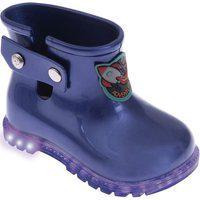 Bota De Led Galocha Pimpolho Colorê Com Luzes Azul