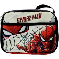 Lancheira Térmica 2 Bolsos Spider Man Hq
