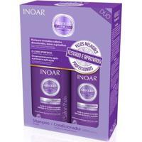 Kit Inoar Speed Blond Shampoo 250 Ml + Condicionador 250 Ml - Unissex-Incolor