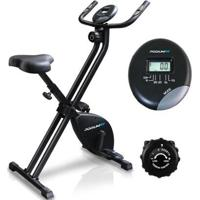 Bicicleta Ergométrica Dobravel Podiumfit X Bike Xb100 Magnet 8 Cargas Silenciosa - Unissex-Preto