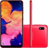 Smartphone Samsung Galaxy A10 32Gb A105 Desbloqueado Vermelho