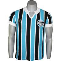 Camisa Masculina Dilva Oldoni Gremio Retro Renato Gaúcho