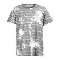 Camiseta Estampa Storm - Cinza Clara