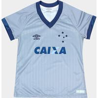 Netshoes  Camisa Cruzeiro Iii 18 19 S N - Torcedor Umbro Feminina - Feminino 351348850763b