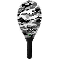 Raquete De Frescobol Evo Fibra De Vidro Camuflagem - Masculino