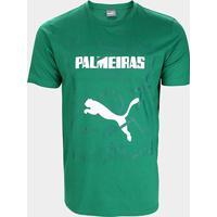 Camiseta Palmeiras Graphic Puma Masculina - Masculino