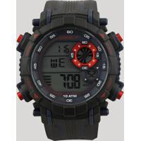 Relógio Digital Speedo Masculino - 80596G0Evnp4 Preto - Único
