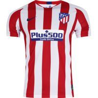 Camisa Atlético De Madrid I 19/20 Nike - Masculina - Vermelho/Branco