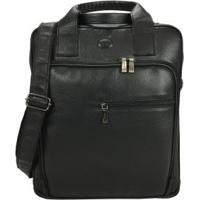 Bolsa Carteiro Masculina Para Notebook Em Couro 9567