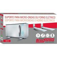 Suporte Para Microondas E Forno De Parede - Branco - Sbr3,8 - Brasforma