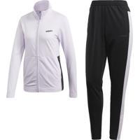 Agasalho Adidas Wts Plain Tric Roxo