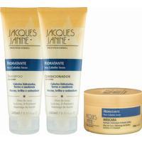 Kit De Shampoo & Condicionador + Máscara Hidratante- Jacjacques Janine