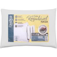 Travesseiro Duoflex Altura Regulável Nasa 50X70 Branco