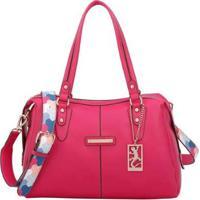 Bolsa Fellipe Krein Bucket Feminina - Feminino-Pink