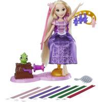 Boneca Princesas Disney - Cabelos Mágicos - Rapunzel - Hasbro - Feminino
