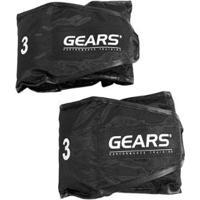 Par Caneleira Black Edition Ajustável 3 Kg Gears - Unissex