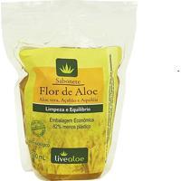 Sabonete Liquido Flor E Aloe Vera Livealoe 500Ml - Refil