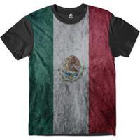 Camiseta Bsc Bandeira México Sublimada Masculina - Masculino