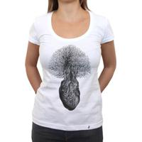 Floresta Interior - Camiseta Clássica Feminina