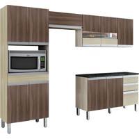 Cozinha Compacta Turmalina 11 Pt 3 Gv Teka Com Mocaccino