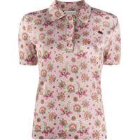 Etro Camisa Polo Mangas Curtas Floral - Neutro