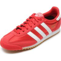 Tênis Adidas Originals Dragon Og Vermelho/Branco