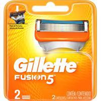 Carga Para Aparelho De Barbear Gillette Fusion5 2 Unidades