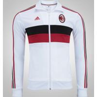 Jaqueta Milan 3S Adidas - Masculina - Branco/Preto
