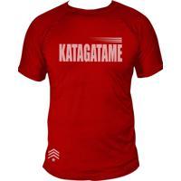 Camiseta Uppercut Jiu-Jitsu Dry Fit Katagatame Vermelho