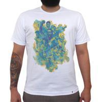 dc878b6328 El Cabriton  Seleção Brasileira De Futebol Arte - Camiseta Clássica  Masculina