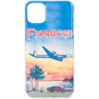Fiorucci Capa Para Iphone 11 Com Estampa Pôr Do Sol - Azul
