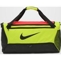 Bolsa Nike Brsla M Duff - 9.0 Amarelo/Rosa