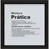 Moldura Decora 20X20 Preta