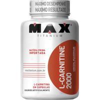 L-Carnitine Max Titanium 2000 - 60 Caps