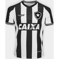 Camisa Botafogo I 2018 S/N° Torcedor Topper Masculina - Masculino
