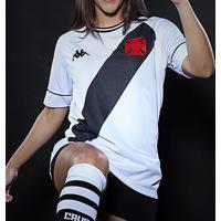 Camisa Vasco Ii 20/21 S/N° Torcedor Kappa Feminina - Feminino