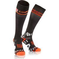 Meia De Compressão Compressport Full Socks V2 Tamanho 1M - Unissex