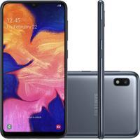 """Smartphone Samsung Galaxy A10 32Gb 6.2"""""""" 2Gb De Ram Câmera Traseira"""