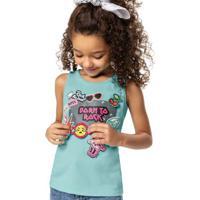 Blusa Verde Claro Lol® Com Aplique Malwee Kids