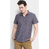 ... Camisa Forum Manga Curta Estampada Smart Masculina - Masculino 95d427a0a05