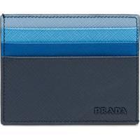 Prada Porta-Cartões - Azul