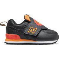 Tênis New Balance 574 | Infantil Preto