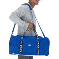 Mala Adidas 4Athlts Duffel M - Azul/Preto