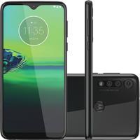 Smartphone Motorola Moto G8 Play 32Gb Xt2015-2 Desbloqueado Preto Onix