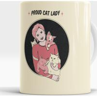 Caneca Proud Cat Lady